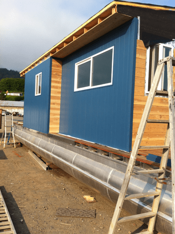 Hose Boat Construction Project