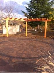 Custom patio by Girard Builders