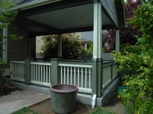 Custom porch by Girard Builders