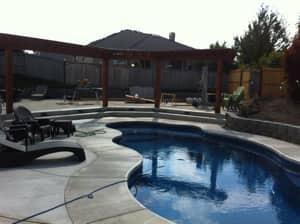 Custom pool and deck by Girard Builders