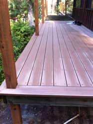 Custom deck by Girard Builders