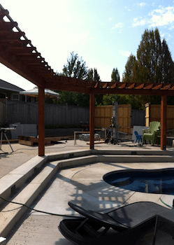Custom Pool Awning