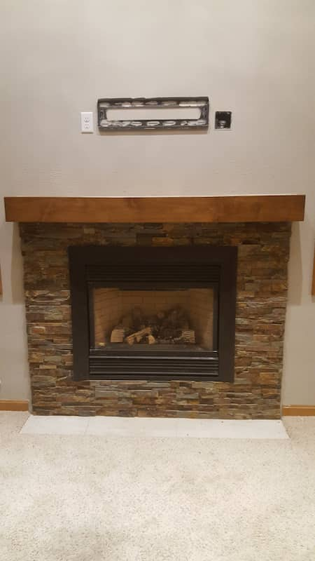 Custom Fireplace Project